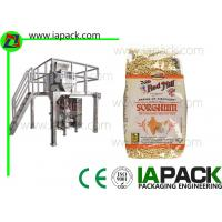 Quality Punch Grain Packaging Machine 1500 Watt Automatically with Multihead Weigher wholesale
