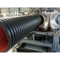 Buy cheap PE double wall corrugated pipe machine from wholesalers