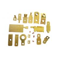 Brass Electrical CNC Machined Parts , CNC Machining Services