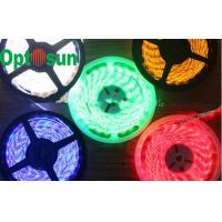 China Indoor 3528 High Power Led Strip Lights White Red Long Lifespan on sale