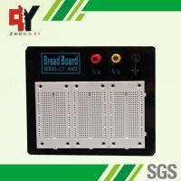 Quality Stainless Steel White Experimental Electronics Breadboard Black Alum Plate wholesale
