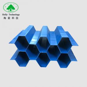 Quality 1mm Black Lamella Clarifier Tube Settler Media , Pp Tube Settler For Sewage Water Treatment wholesale