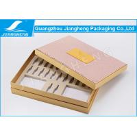 China PU Leather Hardcover Storage Unique Packaging Boxes For Cosmetics / Makeup Set on sale