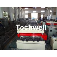 Quality Cr12 Automatic Galvanized Steel Sheet Floor Deck Roll Forming Machine PLC frequency control wholesale