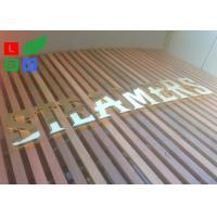 Quality AC 100 - 245V LED Channel Letter Signs Energy Saving For Decoration Signature wholesale