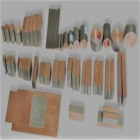 China Titanium &copper alloy bar or titanium clad  plate for industrial use on sale