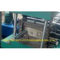 Quality Metal Stud And Track Roll Forming Machine , Steel Plate Rolling Forming Machines wholesale