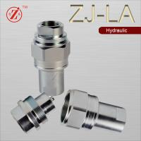 Quality stainless steel hydraulic quick connect fitting thread locked wholesale