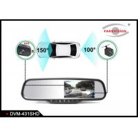Quality Bluetooth - Enabled Car Rear View Mirror Camera , Reverse Camera With Display  wholesale