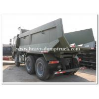 Quality 16m3 truck bucket volume dump truck 24 tons to transport sand or stone in tough road in africa wholesale