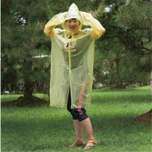 PE Disposable Raincoat
