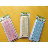 Quality 550 Point Round Hole Breadboard Colorful Circuit Board 15×5.3×0.85 cm wholesale