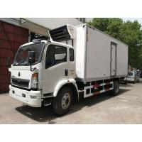 Quality DFAC Small Refrigerated Van Truck Fast Food Cooling Van Body ISO 9001 Approved wholesale
