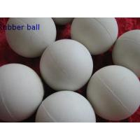 China Low Temprature Resistant HNBR Solid Industrial Ball , Rubber Medicine Ball on sale