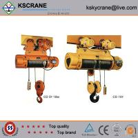 Cheap Attractive and Reasonable Price CD/MD Small Wirerope Electric Cable Hoist for sale