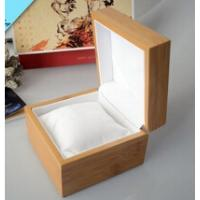 Quality Natural wooden watch box with pillow inside wooden watch box wholesale wholesale