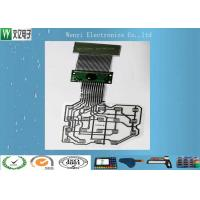 Quality Customized 14 Pin Connector Three layers Two Sides ESD Shield Layer PET Flex Circuit Cable wholesale