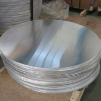 Quality Hot Rolled 1050 1.5MM Circular Aluminum Plate Aluminum Circle Blanks For Cookware wholesale