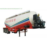 Quality V Type Tank Semi Trailer 50 - 55 M3 , Dry Bulk Cement Trailers Heavy Duty wholesale