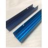 Aluminum Enclosure Blue Anodized CNC Milling Aluminum Extrusion Profile for sale