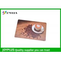Quality Customized Color / Size Restaurant Table Mats , Square Table Placemats PP Material wholesale
