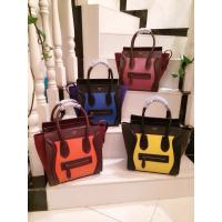 Quality Hotest New arrival Designer women handbag,Original real leather fashion smile face female wholesale