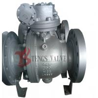 Quality Flanged Trunnion Soft Seated Ball Valve , Cast Steel WCB WCB Ball Valve Split Body wholesale