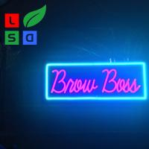 Quality Bar Neon Light Signs High Brightness Simple Design Neon Sign Logo wholesale