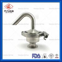 China SUS304   SUS316L Sanitary Pressure Relief Valve  Stainless Steel Air Release Valve on sale