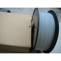 Quality 3D Printing Color Changing Filament High Performance , White To Blue wholesale