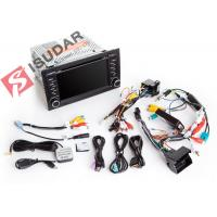 Cheap Split Screen Audi A4 2 Din Car DVD Player With Bluetooth Android 7.1.1 OBD for sale