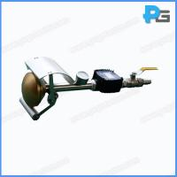 IEC60529 Splash Water Nozzle for IPX3 and IPX4 Testing with Pressure Gauge and Flowmeter Brass Head and Steel Handle