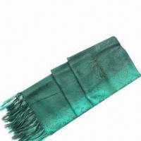 Quality Cashmere like dip dyeing scarf, various colors are available wholesale