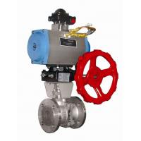 DA-63 Automated Ball Valve Actuator , Compact Double Acting Valve Actuator