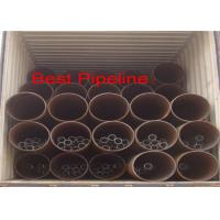 Quality BS 6323 PT5 Grade Welded ERW Steel Pipe 273,000 Out Diameter With Square End wholesale