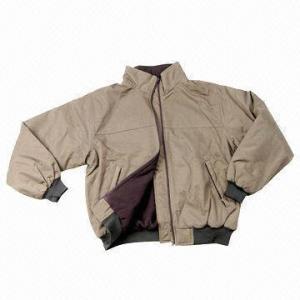 Quality Men's Jacket, Made of Nylon Taslon, with Metal Zipper wholesale