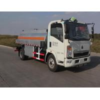 Quality Sinotruk HOWO7 High Pressure 4000 Gallon Water Spray Truck , LHD 6X4 Construction Water Tank Trucks wholesale