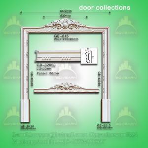 Quality Classic european style PU door lintel moulding wholesale