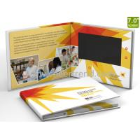 Cheap Customized printing 7inch lcd screen video brochure / lcd paper Video Brochure for advertising for sale