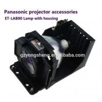 China Panasonic projector accessories replacement Lamps ET-LAB80 with housing on sale