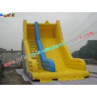 China Waterproof Commercial Inflatable Slide , Big Inflatable Slide For Children on sale