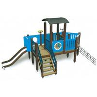 China Moetry PE Board Children Outdoor Playground Customized Theme Cargo Play Ground for sale