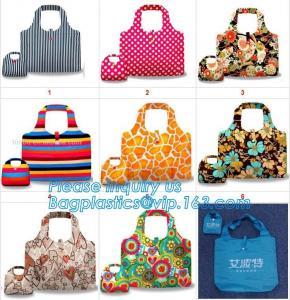 Quality Nylon folding pocket foldable polyester shopping bag,Fashionable 420D Custom Logo Polyester Drawstring Bag bagease pack wholesale