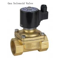 Quality Miniatur NPT Thread 1 Inch Solenoid Gas Valve For Petroleum Gas / Natural Gas wholesale