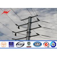 China Polygonal 12m 800 Dan Electrical Power Line Pole For Electrical Line Project on sale
