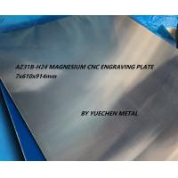 Quality Good flatness AZ31 Magnesium engraving sheet for embossing Magnesium Tooling Plate hot stamping wholesale