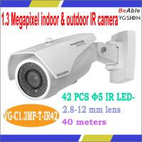 Quality 1.3 MP indoor & Outdoor Motion Detect P2P 960P IP Digital Camera Prices in China wholesale