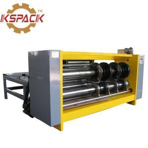 China Semi Automatic Corrugated Box Making Machine Price Rotary Slotter Machine on sale
