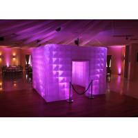 Cheap Lighting Wedding Inflatable Photo Booth Enclosure Portable Props For Party for sale