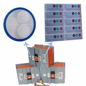 Large Indicating Field Temperature Indicator Sticker PVC Mateiral 4 Years Lifespan